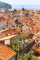 Stock photos of Roof tops of Dubrovnik, Croatia