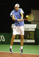 18-2-06, Netherlands, tennis, Rotterdam, ABNAMROWTT, Qualifying round, Thiemo de Bakker