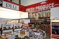 Fresh produce, Costco Wholesale discount store.