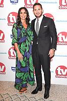 Chrisatine Bleakley and Frank Lampard<br /> arriving for the TV Choice Awards 2017 at The Dorchester Hotel, London. <br /> <br /> <br /> ©Ash Knotek  D3303  04/09/2017