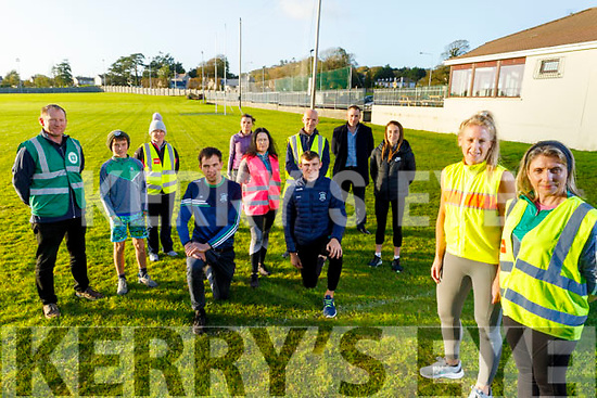 The new Gaeil Goers launching their running club at Na Gaeil. Front right: Helen Tansley and Sorcha Uí Shuilleabhain. Kneeling l to r: Jack Barry and Diarmuid O'Connor. Back l to r: Liam and Danny Kingston, Helen Cooper, Mairead Keane O'Connor, Helena McMahon, Billy O'Brien, Shona Heaslip and Tim Lynch