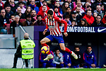 Santiago Arias of Atletico de Madrid in action during the La Liga 2018-19 match between Atletico de Madrid and Deportivo Alaves at Wanda Metropolitano on December 08 2018 in Madrid, Spain. Photo by Diego Souto / Power Sport Images