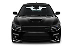 Car photography straight front view of a 2019 Dodge Charger GT 4 Door Sedan Front View