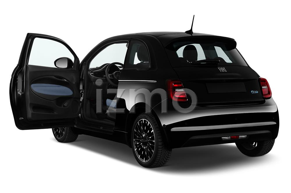 Car images of 2021 Fiat 500 Icon 3 Door Hatchback Doors