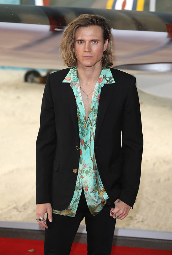 """Dougie Poynter<br /> at the """"Dunkirk"""" World Premiere at Odeon Leicester Square, London. <br /> <br /> <br /> ©Ash Knotek  D3289  13/07/2017"""