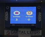 06.03.2021 Rangers v St Mirren: Full time score