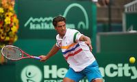13-07-13, Netherlands, Scheveningen,  Mets, Tennis, Sport1 Open, day six, Jesse Huta Galung (NED)<br /> <br /> <br /> Photo: Henk Koster
