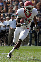 Rutgers wide receiver Jeremy Deering. The Pittsburgh Panthers defeated the Rutgers Scarlet Knights 41-21 on October 23, 2010 at Heinz Field, Pittsburgh, Pennsylvania....