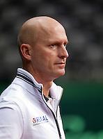 15-9-09, Netherlands,  Maastricht, Tennis, Daviscup Netherlands-France, Training, Rohan Goetske