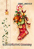 Marcello, CHRISTMAS SYMBOLS, WEIHNACHTEN SYMBOLE, NAVIDAD SÍMBOLOS, paintings+++++,ITMCXM1412,#XX# ,Christmas stockings