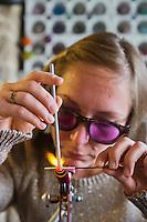 Europe/France/Normandie/Basse-Normandie/50/Villedieu-les-Poêles: Noémie Lechopier Perlier d'Art - Création de Perles de Verre - Noémie Lechopier