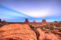 "Monumental Magic - Arizona<br /> Monument Valley Navajo Tribal Park ""The Mittens"""