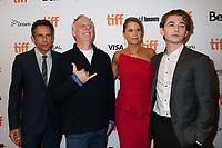 BEN STILLER, WRITER MIKE WHITE, JENNA FISCHER AND AUSTIN ABRAMS - RED CARPET OF THE FILM 'BRAD'S STATUS' - 42ND TORONTO INTERNATIONAL FILM FESTIVAL 2017 . TORONTO, CANADA, 10/09/2017. # FESTIVAL DU FILM DE TORONTO - RED CARPET 'BRAD'S STATUS'