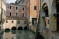 - Treviso, ancient historical downtown....- Treviso, antico centro storico
