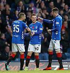 11.11.2018 Rangers v Motherwell: Glenn Middleton takes the acclaim for his goal