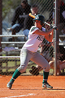 Slippery Rock outfielder Amanda Hedgepeth #26 during a game against Lees-McRae College at Oren Brown Field on March 7, 2011 in Kissimmee, Florida.  Slippery Rock defeated Lees-McRae 9-6.  (Mike Janes/Four Seam Images)