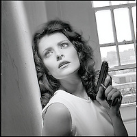 Woman with gun<br />