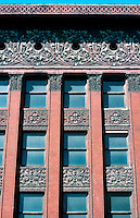 Louis Sullivan: Wainwright Bldg. Facade, Detail, Roof.  Photo '77.