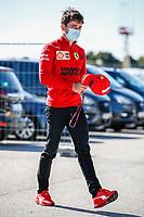 LECLERC Charles (mco), Scuderia Ferrari SF21, portrait during the Formula 1 Heineken Grande Prémio de Portugal 2021 from April 30 to May 2, 2021 on the Algarve International Circuit, in Portimao, Portugal -  <br /> FORMULA 1 : Grand Prix Portugal - Essais - Portimao - 30/04/2021<br /> Photo DPPI/Panoramic/Insidefoto <br /> ITALY ONLY