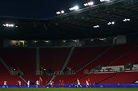 13th April 2021; Bet365 Stadium, Stoke, England; General view of the match during the womens International Friendly  match between England and Canada