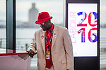 © Joel Goodman - 07973 332324 . 24/09/2016 . Liverpool , UK . A party delegate at the ACC ahead of the Labour Party leadership declaration in the campaign between Jeremy Corbyn and Owen Smith , at the Liverpool Arena and Convention Centre ahead of the party's 2016 Conference . Photo credit : Joel Goodman