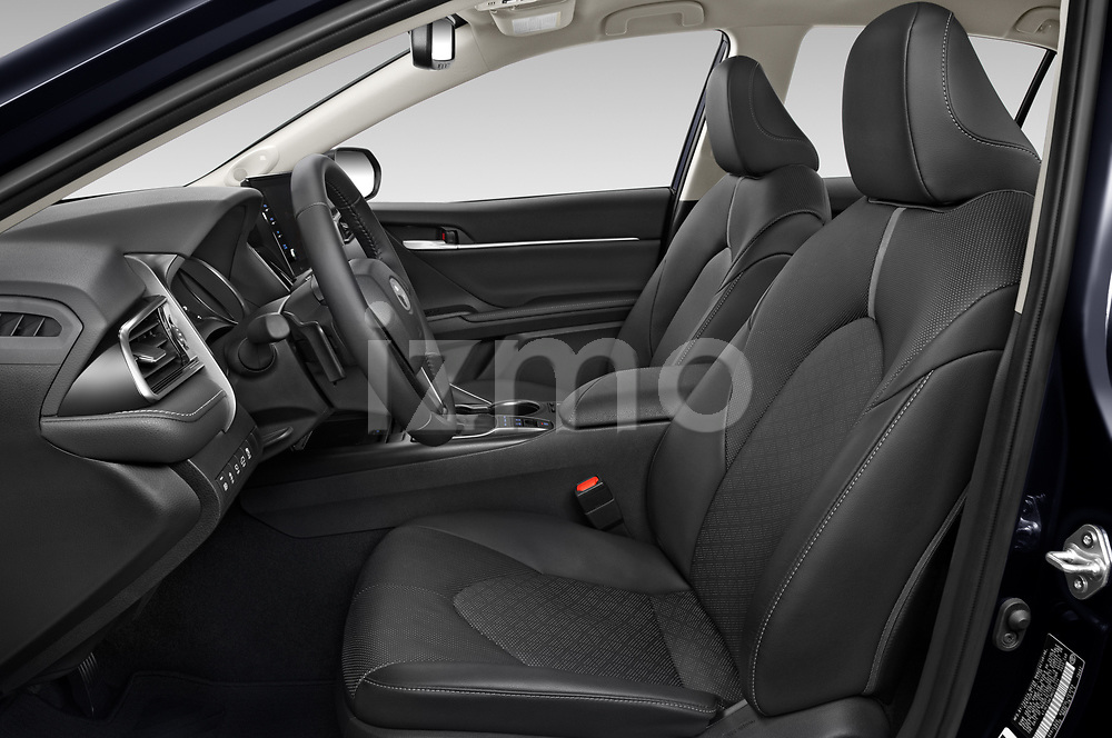 Front seat view of 2021 Toyota Camry-Hybrid XSE 4 Door Sedan Front Seat  car photos