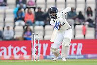 Ajinkya Rahane, India drives through extra cover for three runs during India vs New Zealand, ICC World Test Championship Final Cricket at The Hampshire Bowl on 20th June 2021