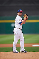 Buffalo Bisons starting pitcher John Anderson (35) during a game against the Durham Bulls on June 13, 2016 at Coca-Cola Field in Buffalo, New York.  Durham defeated Buffalo 5-0.  (Mike Janes/Four Seam Images)