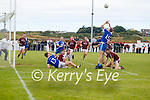 Bryan Sheehans cross into the Dromid goal mouth leaves carnage on the ground but a still standing Tadhg O'Connor makes no mistake as he drives the ball into the back of the Dromid net.