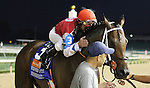 June 14, 2014:  Moonshine Mullin and Calvin Borel win the Stephen Foster Handicap Grade 1 $500,000 Win and You're In Classic Division Presented by Abu Dhabi at Churchill Downs for owner Randy Patterson and trainer Randy Morse.  Candice Chavez/ESW/CSM