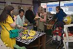 Made in Roath Arts Festival 2014. Cardiff Wales. The Banana Lady Jennifer Pearce.