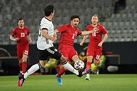 Mats Hummels (Deutschland Germany) klaert gegen Thomas Delaney (Dänemark, Denmark) - Innsbruck 02.06.2021: Deutschland vs. Daenemark, Tivoli Stadion Innsbruck