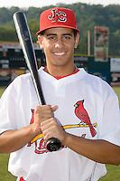 Joseph Hage (23) of the Johnson City Cardinals at Howard Johnson Field in Johnson City, TN, Thursday July 3, 2008.