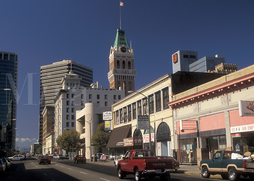 AJ3760, Oakland, California, Downtown Oakland in the state of California.