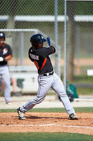 Miami Marlins Sharif Othman (16) during a minor league Spring Training intrasquad game on March 31, 2016 at Roger Dean Sports Complex in Jupiter, Florida.  (Mike Janes/Four Seam Images)