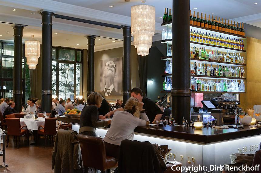 Brasserie und Bar Die Bank, Hamburg, Deutschland