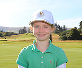 "Grace Rita Crawford from Gullane Golf Club is named as one of the ""DreamTeam"" of Junior Golfers who have been selected to take part in the The Gleneagles Foundation inaugural 12 month scholarship programme  : Picture Stuart Adams, www.golftourimages.com: 19/09/2015"