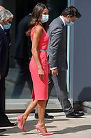 ZARAGOZA, SPAIN - September 16:  **NO SPAIN** King Felipe and Queen Letizia attends the 125th Anniversary of newspaper El Heraldo de Aragon in Zaragoza, Spain on September 16, 2020. Credit: Jimmy Olsen/MediaPunch