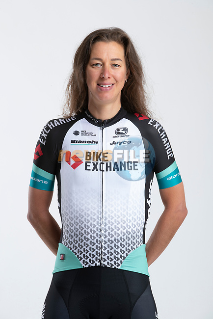 Janneke Ensing (NED) Team BikeExchange women's squad potrait, Spain. 22nd January 2021.<br /> Picture: Sara Cavallini/GreenEDGE Cycling | Cyclefile<br /> <br /> All photos usage must carry mandatory copyright credit (© Cyclefile | Sara Cavallini/GreenEDGE Cycling)