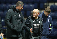 29th December 2020; Deepdale Stadium, Preston, Lancashire, England; English Football League Championship Football, Preston North End versus Coventry City; Preston North End manager Alex Neill walks toward the tunnel after the final whistle