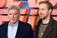 """Harrison Ford and Ryan Gosling<br /> at the """"Blade Runner 2049"""" photocall, Corinthia Hotel, London<br /> <br /> <br /> ©Ash Knotek  D3312  21/09/2017"""