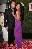WEST HOLLYWOOD, CA, USA - MAY 13: Michael Ohoven, Joyce Giraud at the Pump Lounge Grand Opening Hosted By Lisa Vanderpump And Ken Todd held at Pump Lounge on May 13, 2014 in West Hollywood, California, United States. (Photo by Celebrity Monitor)