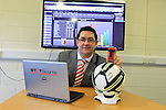 Paul Johnston of Statsports in Dundalk<br /> Picture Fran Caffrey / Newsfile