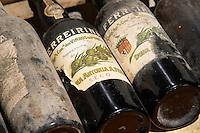 old bottles in the cellar ferreirinha seco ferreira port lodge vila nova de gaia porto portugal