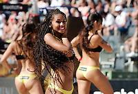 Campionati mondiali di beach volley, Roma, 17 giugno 2011..Cheerleaders perform during the Beach Volleyball World Championship in Rome, 17 june 2011..UPDATE IMAGES PRESS/Riccardo De Luca