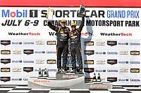 IMSA Continental Tire SportsCar Challenge<br /> Mobil 1 SportsCar Grand Prix<br /> Canadian Tire Motorsport Park<br /> Bowmanville, ON CAN<br /> Saturday 8 July 2017<br /> 56, Porsche, Porsche Cayman, ST, Jeff Mosing, Eric Foss, podium win, winner, victory lane<br /> World Copyright: Scott R LePage/LAT Images