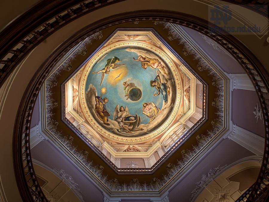 Apr. 7, 2015; Rotunda of the Main Building. (Photo by Matt Cashore/University of Notre Dame)
