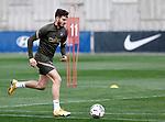 Atletico de Madrid's Saul Niguez during training session. March 8,2021.(ALTERPHOTOS/Atletico de Madrid/Pool)