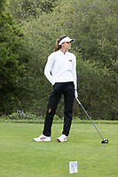 STANFORD, CA - APRIL 24: Alessandra Fanali at Stanford Golf Course on April 24, 2021 in Stanford, California.