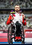 Brent Lakatos, Tokyo 2020 - Para Athletics // Para-Athlétisme<br /> Brent Lakatos takes home the silver medal in the men's 400m T53 // Brent Lakatos remporte la médaille d'argent au 400 m T53 hommes. 29/08/2021.